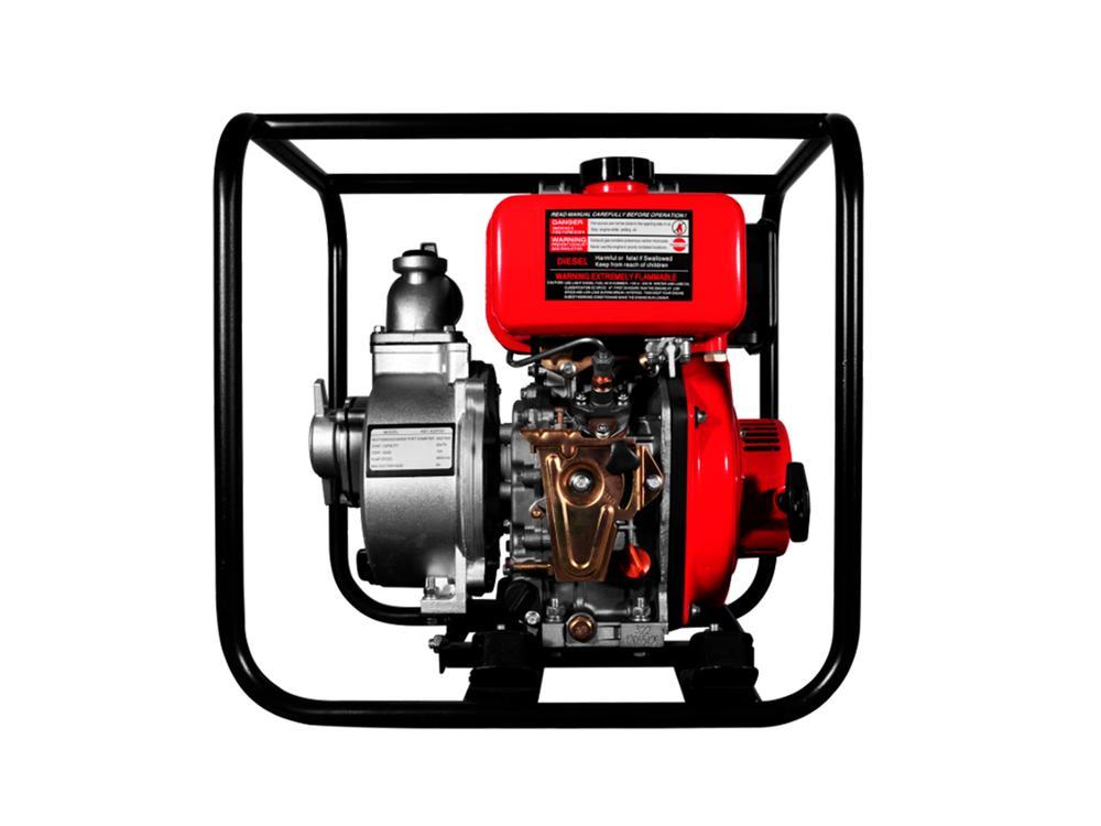 BOMBA DIESEL CAUDAL 4.0HP 2X2 550L/MIN